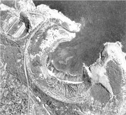 1-14-1963 Aerial Images of Hanauma Bay and nearby Koko Marina.