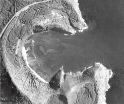 2-8-1968 Aerial Images of Hanauma Bay and Koko Marina.