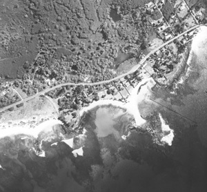 4-14-1960 R.M. Towill aerial photo of Po'ipū.